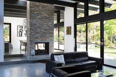 """Hillside Eichler-Inspired Residence in California: """"Atrium House ..."""