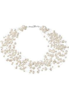 CHRIST Pearls Halskette - weiß für 74,90 € (06.03.15) versandkostenfrei bei Zalando bestellen.