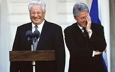 Yeltsin and Clinton - as matched as G. Bush and Putin Steven Seagal, Dream Theater, James Cameron, Axl Rose, Miles Davis, Foo Fighters, Def Leppard, Stanley Kubrick, Eric Clapton
