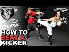 How to Beat a Kicker (Taekwondo/Karate-Style) with Punches