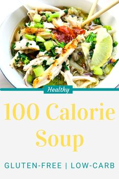 Warm Up with a Bowl of Hearty 100 Calorie Pho-Style Cabbage Soup | Delicious, Easy, Gluten-Free & Low-Carb Recipe #healthydinnerrecipes #healthyrecipes #glutenfreerecipes #weightwatchersrecipes #healthylunchideas #kikkoman Healthy Dinner Recipes, Vegetarian Recipes, Cabbage Soup, 100 Calories, Weight Watchers Meals, Soup And Salad, Food Hacks, Gluten Free Recipes, Vegetarische Rezepte