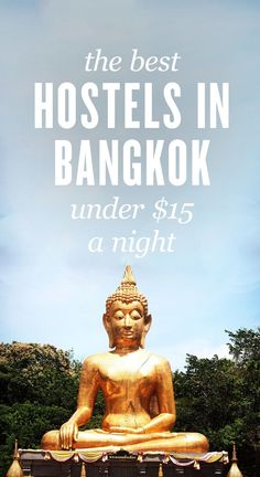 Here is the ultimate list of the best hostels in Bangkok, Thailand!