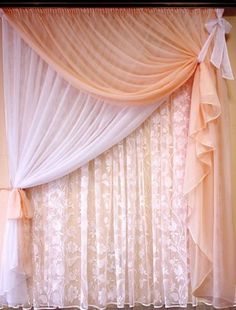 Neat choices to find out more about Curtain Styles, Curtain Designs, Curtain Ideas, Sheer Curtains, Drapes Curtains, Window Coverings, Window Treatments, Rideaux Design, Custom Drapes