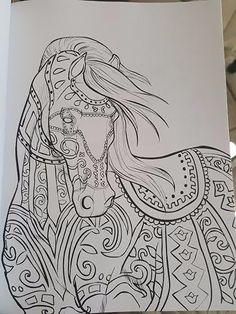 Adult Coloring Book Horse - 19 Adult Coloring Book Horse , Adult Coloring Page Horse Coloring Page to by Horse Coloring Pages, Adult Coloring Book Pages, Printable Adult Coloring Pages, Mandala Coloring Pages, Coloring Pages To Print, Colouring Pages, Coloring Books, Dibujos Zentangle Art, Horse Drawings