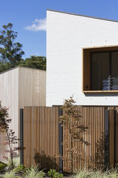 Garden House by James Design Studio - Central Courtyard Architecture - The Local Project Contemporary Architecture, Interior Architecture, Design Studio, House Design, Sas Entree, Passive Design, Timber Cladding, Wood Cladding Exterior, Internal Courtyard