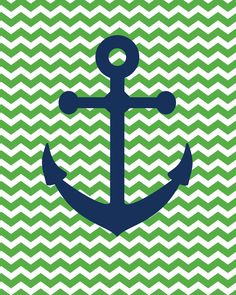 """So this weekend my hubs got some fun new """"boat shoes""""...      ...and just like that I was inspired to create some free anchor printables (av..."""