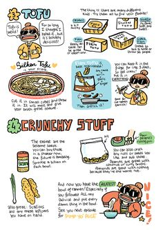 """heyluchie: """" Ramen are one of the best confort foods. Food Baby, my 42 pages, full color zine, is available for individual sale ! Inside you'll find recipe comics, food related journal comics, eggs..."""