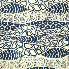 Check out the deal on Fossils by Batik Tambal, Indigo at artisticartifacts.com