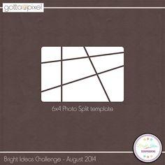 Bright Ideas Challenge - August 2014. Earn Pixel Points at Gotta Pixel. www.gottapixel.net/