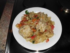 Romanian chorbe - recipe with picture Sauerkraut, Fried Rice, Food Pictures, Potato Salad, Nom Nom, Chicken, Dining, Cooking, Ethnic Recipes