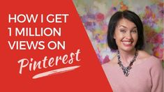 Pinterest marketing can enable you to get 1 million views per month and ensure thousands of people to sign up to your mailing list for FREE! How Do I Get, How To Look Better, Lucy Griffiths, Pinterest Tutorial, Get More Followers, Body Confidence, Got 1, Pinterest For Business, Business Inspiration