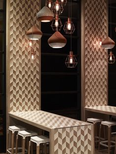 great idea for a breakfast nook/bar at home c/o cotta cafe