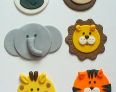 12 Edible Fondant Safari Jungle Zoo Animal Cupcake Toppers 12 Edible Fondant Safari Jungle Zoo Animal Cupcake Toppers 23 Source by Zoo Cake, Jungle Cake, Jungle Safari, Jungle Animals, Jungle Cupcakes, Pink Cupcakes, Zoo Animal Cupcakes, Animal Cakes, Fondant Cupcake Toppers
