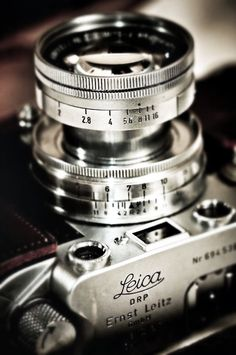 Leica. (The M9, if you have deep pockets. I adore my vintage Leica.)