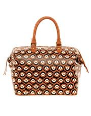 Leather Printed Bowler Bag - ASOS - New Fashioned