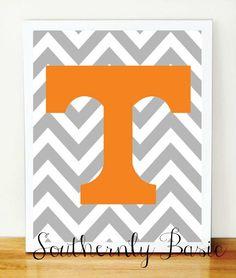 University+of+Tennessee+Chevron+Art+Print+by+SouthernlyBasic,+$15.00