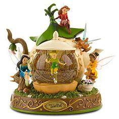 Disney Snowglobes Collectors Guide: Fairies teapot snowglobe