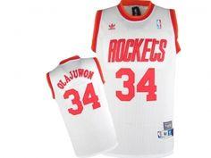 NBA Houston Rockets #34 Olajuwon jersey