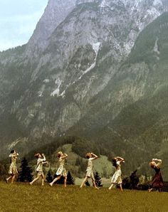 The Sound of Music. Reminds me of living in Austria.