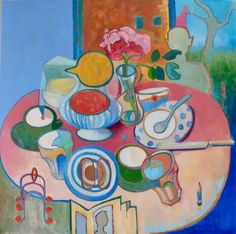 Breakfast Table Still Life
