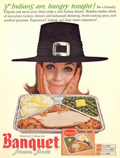 Vintage TV Dinner Ads For National Frozen Food Day COME TO OUR STORE AND TRY TO FIND THESE VINTAGE ADS! $3 EACH OR 2 FOR $5!!