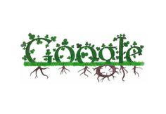 I naturally prefer the organic Google Doodles, Doodle 4 Google, Susan Sullivan, Logo Google, Art Google, Google Banner, Logo Search, Irish Design, Irish Roots