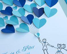 Unique Wedding Guest Books-Wedding Guest Book by WeddingUkraine