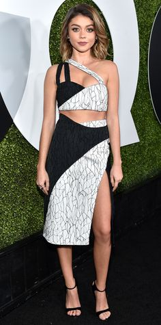 Look of the Day - Sarah Hyland - from InStyle.com