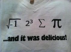 Math Geek love!