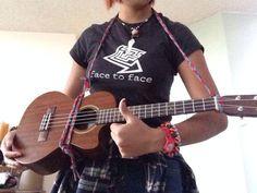 Diy ukulelemandolin wall hanger house pinterest hanger diy ukulele strap solutioingenieria Images