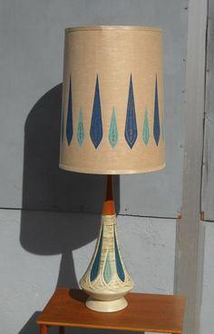 vintage mod lamp etsy