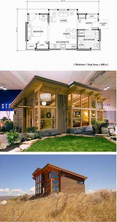 I Just Love Tiny Houses - Tiny House And Blueprint