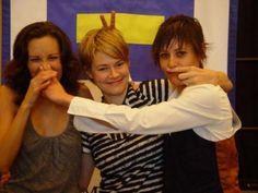 """Dana, Alice, and Shane (or.. Erin Daniels, Leshia Haley, and Kate Moennig.) Best """"The L Word"""" characters :)"""