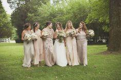 Photography: Krista Lee Photography - kristaleephotography.com  Read More: http://www.stylemepretty.com/2015/05/15/rustic-gold-nashville-garden-wedding/