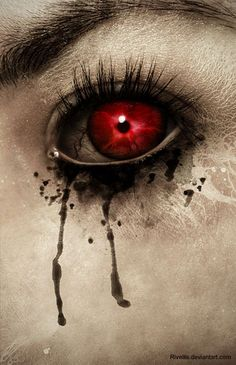[  http://www.pinterest.com/toddrsmith/boo-who-adult-halloween-ideas/  ]  - red eye with tear drips