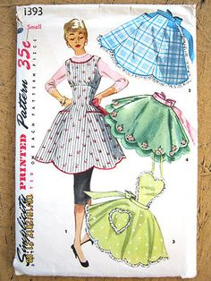 Wish patterns were still at this price. And this is darling aprons