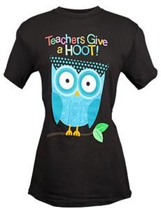 Teachers Give a Hoot t-shirt!  I bought one and love it!
