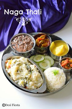 Desi Fiesta : Naga Thali   Nagaland Cuisine
