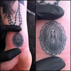 cool Medallion tattoo by J Becerra
