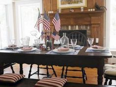 Fourth Of July Decorating  Fourth Of July Decorations And Party Ideas  Collections Etc