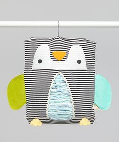 Penguin Diaper Holder