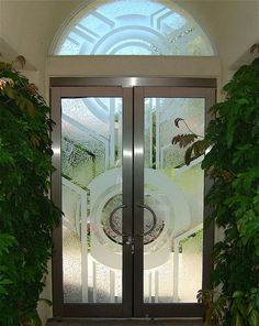 Sun Odyssey Glass Doors & Transom Window