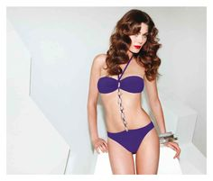Luxurious in Purple, Black, Magenta and Green.