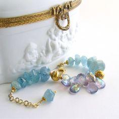 Aquamarine and amethyst