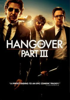 The Hangover: Part III is a great example of a sequel that should not have been made. After great success of the original Hangover and decent part 2, this film was a great let down. The storyline did not really  make sense and the actors look like they were there to  collect the paycheck. There were a few funny moments but overall it wasn't that good.