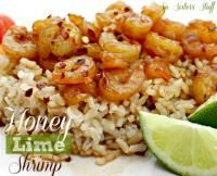 Six Sisters Healthy Honey Lime Shrimp Recipe. A great recipe for eating healthier! #sixsistersstuff