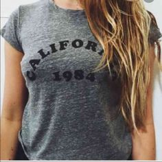 California Shirt In excellent condition. Brandy Melville Tops