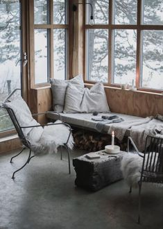 A Simple, Yet Cosy Norwegian Cabin