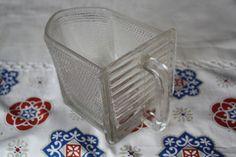Vintage Dosen - Große Schütte aus Glas - ein Designerstück von Annako62 bei DaWanda