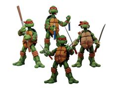 SOLD OUT – But I still want theses so bad! | TMNT Series 01: TMNT Box Set - Teenage Mutant Ninja Turtles (NECA) Figures